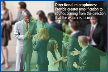 Directional microphones enhance hearing